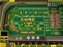 online craps at Rome Casino