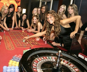 girls winning at roulette