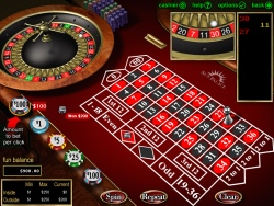 roulette game at Sun Palace